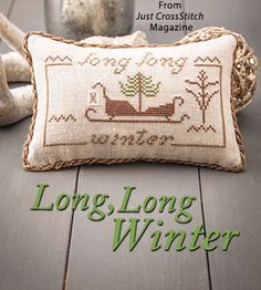 Long, Long Winter from the Jan/Feb 2018 issue of Just CrossStitch Magazine. Order a digital copy here: https://www.anniescatalog.com/detail.html?prod_id=140996