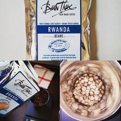 Enjoying the subtle smooth and elegant Bean There #coffee from #Rwanda  today. Caramel sweet and creamy. Perfect for a rainy day. #capecoffeebeanthere #africanadventure #africa #twitter #pinterest