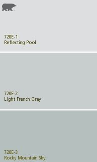 behr paint: Light french gray