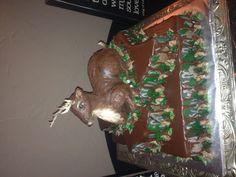 3-D Deer cake. Granbury Cakes