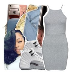 """""""I know all your 's boring‼️"""" by ayeeitsdessa ❤ liked on Polyvore featuring Michael Kors and NLY Trend"""