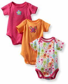 Lamaze Baby-Girls Newborn 3 Pack Floral Bodysuits, Pink/Orange, 0-3 Months Lamaze,http://www.amazon.com/dp/B0088BAVLG/ref=cm_sw_r_pi_dp_aHmXsb0CXMMATVSS