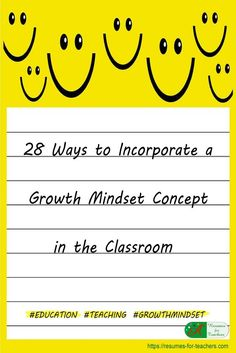 Teaching and incorporating a growth mindset concept in the classroom to optimize student success via /https/://www.pinterest.com/candacedavies1/