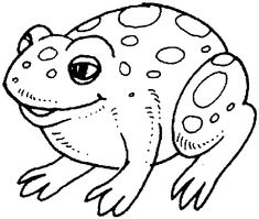 Free Coloring Pages Of Colour By Number Frog