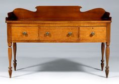 Lot:201: Greene County, Tennessee sideboard,, Lot Number:201, Starting Bid:$2500, Auctioneer:Brunk Auctions, Auction:201: Greene County, Tennessee sideboard,, Date:02:00 AM PT - Sep 6th, 2008
