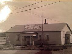 Girl Guide Hut, Buchans, Newfoundland Devon Uk, Newfoundland And Labrador, Home Again, Old City, Beautiful Islands, Back Home, North America, Canada, House Styles