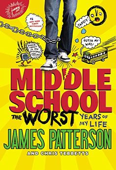 Buy The Worst Years of My Life by James Patterson at Mighty Ape NZ. Discover the bestselling middle-grade comic that inspired a major motion picture: Children's Choice Award winner James Patterson has never been mor. Middle School Series, Middle School Drama, Book Of Life, Of My Life, The Book, Good Books, Books To Read, Funny Books For Kids, Children's Choice