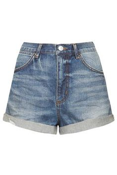Moto Rosa Denim Hotpants