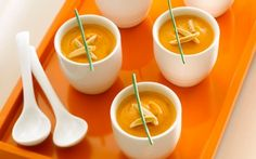 National Soup Month! Sweet Potato Almond Chipotle Soup #almonds #CrunchOn