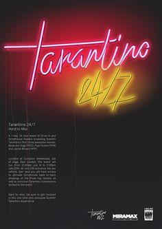 Tarantino 24/7 on Behance
