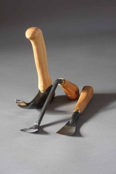Hans Karlsson bowl carving set - Robin Wood