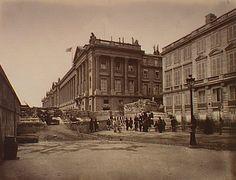 Vendome column. Chateau Gaillard Barricade