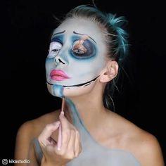 7 wilde AF-Halloween-Make-up-Looks - Halloween - Makeup Zombie Makeup, Clown Makeup, Costume Makeup, Makeup Geek, Makeup Art, Prom Makeup, Wedding Makeup, Beauty Makeup, Cool Halloween Makeup