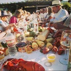 Great memories from this years Lobster Boil! #lobster #party #food #yum #california #napa