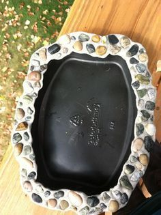 Fairy garden pond This whimsical pond would be a delightful addition to any indoor or protected outdoor fairy or miniature garden. (See the listing for koi fish Mini Fairy Garden, Fairy Garden Houses, Fairy Gardening, Organic Gardening, Fairies Garden, Garden Ponds, Container Gardening, Diy Fairy House, Diy Fairy Door