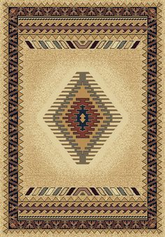 Manhattan Tucson Cream Area Rug