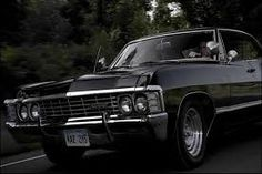 Image result for 1967 chevy impala sam and dean