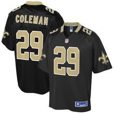 76cd53238 Kurt Coleman New Orleans Saints NFL Pro Line Big   Tall Player Jersey –  Black