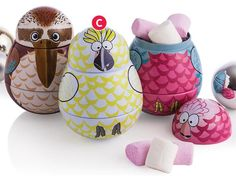 Animal Character Tins With Marshmallows 30g $5 BigW