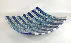 """""""Carnivale VI"""" - kiln-formed glass"""