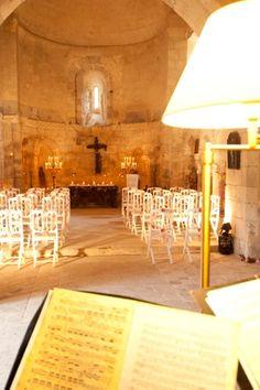 Our own 12th century chapel at chateau de lisse