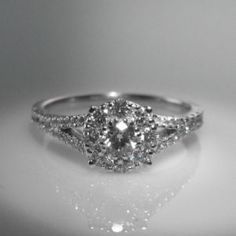 18k #White #Gold #Diamond #Cluster #Ring €1,950