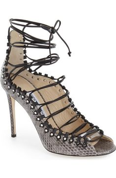 Jimmy Choo 'Koko' Lace-Up Sandal (Women) available at #Nordstrom