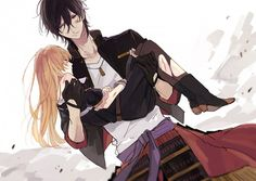 Touken Ranbu, Ookurikara, Anime Boys, Samurai, very beautiful Manga Love, Anime Love, Anime Guys, Angel Of Death, Manga Art, Manga Anime, Manga Romance, Marinette E Adrien, Desenhos Love