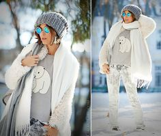 cold winter outfit by Galant girl