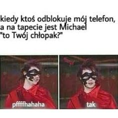 Jak sama nazwa wskazuje... znajdziecie tutaj memy. Przygotujcie miejs… #losowo # Losowo # amreading # books # wattpad Polish Memes, 5sos Memes, 5 Sos, Malec, 1d And 5sos, 5 Seconds Of Summer, Michael Jackson, Sims 4, Haha