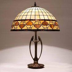 Tiffany Lamp 40 cm (16 in) Acorn T1435 model Odyssey, Tiffany Desk Lamp, Tiffany Lamp, Desk Lamp, Lamp - #Acorn #Desk #lamp #Model #Odyssey #T1435 #Tiffany #tiffanylampdecor - Lamp, Ceiling Lights, Desk Lamp, Tiffany Style Lamp, Lamp Decor, Lights, Tiffany Ceiling Lights, Tiffany Lamps, Nightstand Lamp