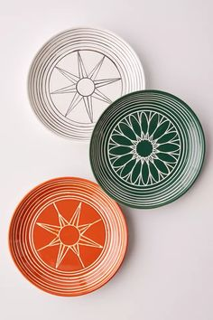 Soleil Bordered Serving Plate | Urban Outfitters