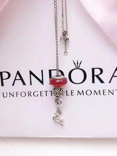 50% OFF!!! Pandora Charm Necklace. Hot Sale!!! SKU: CN01012 - PANDORA Necklace Ideas On BraceletGifts.com