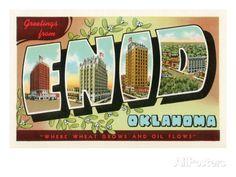Greetings from Enid, Oklahoma