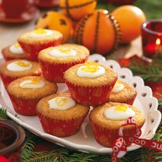 Apelsinmuffins