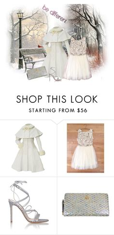 """""""Fab DELOOM dress"""" by autumn-soul ❤ liked on Polyvore featuring Gianvito Rossi, Vivienne Westwood, women's clothing, women, female, woman, misses and juniors"""