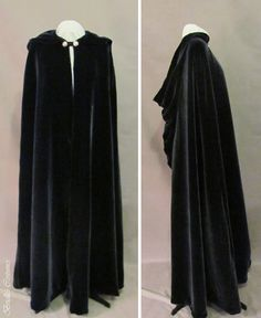 Silk Velvet Elvish Cape by Brielle's Costume Wardrobe - Don't know why but I feel like I need one of these!