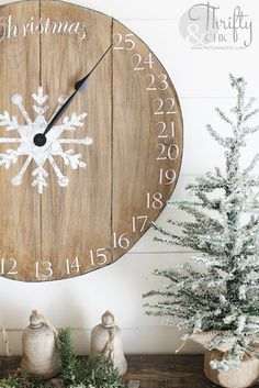 DIY Wood Clock Chris