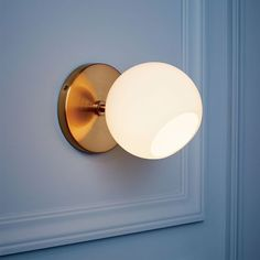 west elm Staggered Glass Sconce - Single