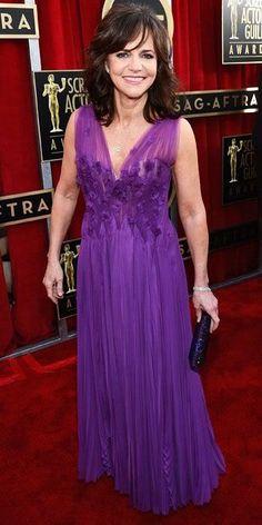 Sally Field 2012 SAG Awards #celebrities #celebrityfashion #redcarpet