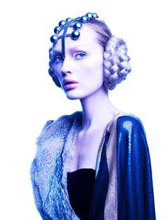 It's like a futuristic princess. DOZE MAGAZINE by Jose Herrera