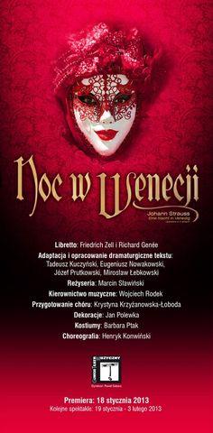 'Noc w Wenecji' - operetka w 2 aktach. 31.01.2015, godz. 19.00  http://www.nck.krakow.pl/component/content/article?id=853