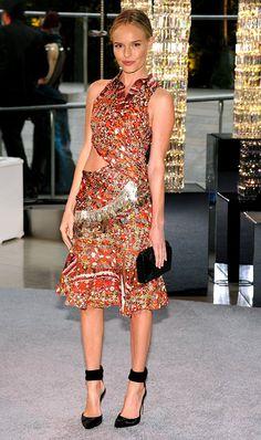 Glowing Kate Bosworth at CFDA