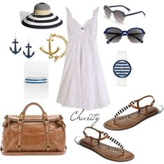 summer outfit..by cvock on polyvore