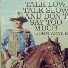 Résultat d'images pour John Wayne Cowboy Quotes Western Quotes, Cowboy Quotes, Rodeo Quotes, Country Quotes, Great Quotes, Quotes To Live By, Inspirational Quotes, Motivational, Movie Quotes