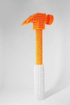 Ping Pong Sculptures by Lazerian Design Studios