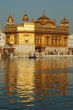 """Harmandir Sahib, also Darbar Sahib and informally referred to as the """"Golden Temple"""", is a prominent Sikh Gurdwara located in the city of Amritsar, Punjab, India."""