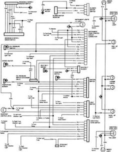 85 chevy truck wiring diagram chevrolet truck v8 1981 1987 rh pinterest com 1985 chevy truck wiring harness diagram 1985 chevy truck radio wiring diagram