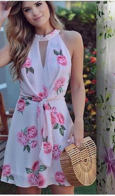 72 shirts blouses that look fantastic 43 ~ Litledress Cute Dresses, Casual Dresses, Short Dresses, Fashion Dresses, Prom Dresses, Midi Skirt Casual, Floral Fashion, Fashion Design, Ankara Gown Styles