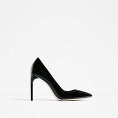 CHAUSSURES À TALONS VERNIES-Chaussures à talon-CHAUSSURES-FEMME   ZARA France